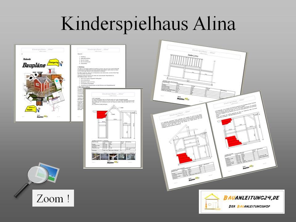 bauplan kinderspielhaus ohne terrasse. Black Bedroom Furniture Sets. Home Design Ideas