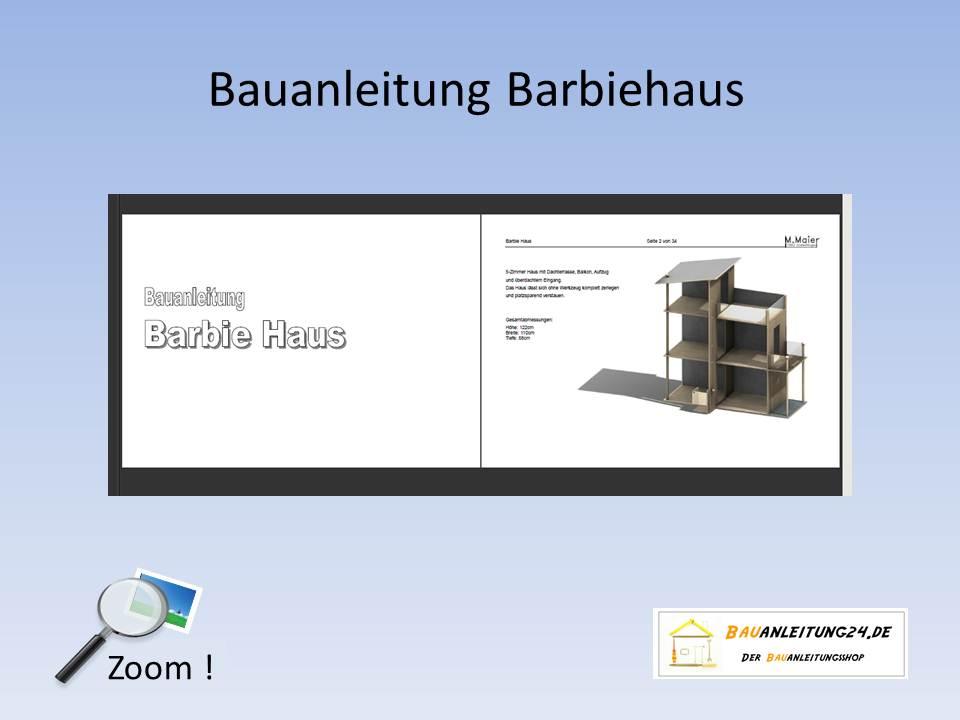 Bauanleitung Barbie Haus