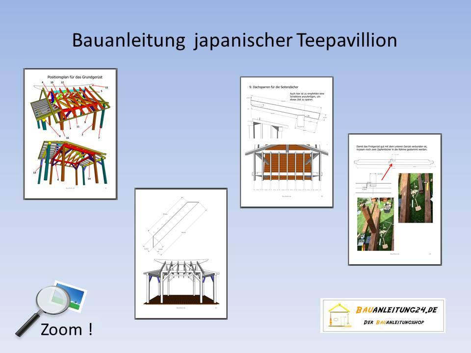 Bauanleitung pavillon im teehausstil for Japanisches haus bauen