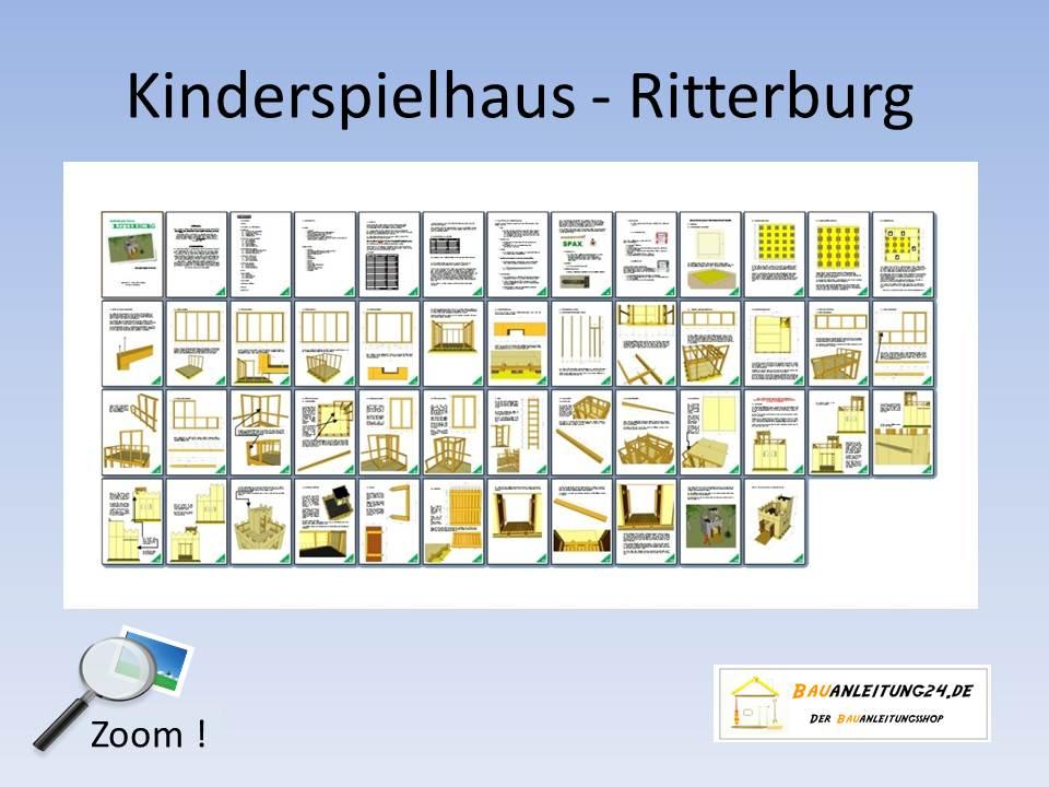 Bauanleitung Ritterburg Aus Holz Selber Bauen ~ Ritterburg Spielhaus Selber Bauen Pictures to pin on Pinterest