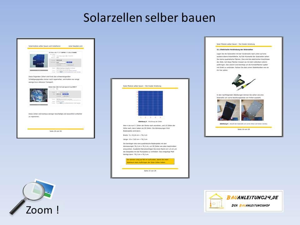 solarmodule selber bauen