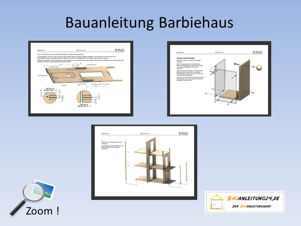 bauanleitung barbie haus. Black Bedroom Furniture Sets. Home Design Ideas